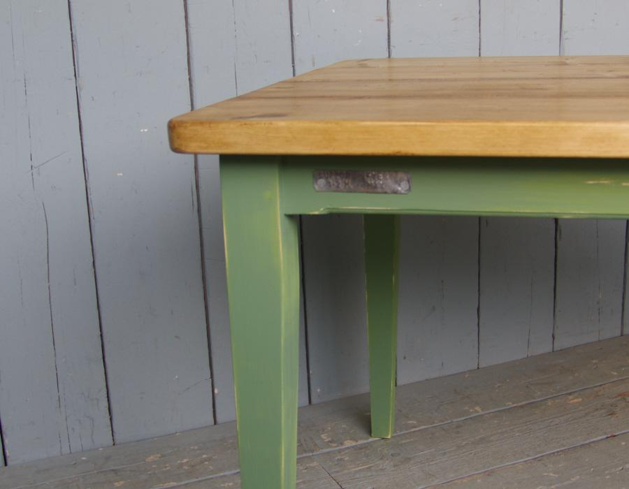 UKAA's Pine Plank Topped Table