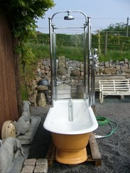 Image 2 - Totally Original Victorian Canopy Shower Bath