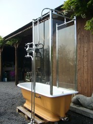Image 3 - Totally Original Victorian Canopy Shower Bath