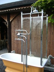 Image 4 - Totally Original Victorian Canopy Shower Bath