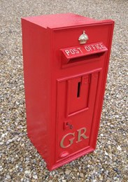 Image 1 - Original Wall Mounted GR 5th Post Box Circa 1915