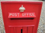 Image 3 - Original Wall Mounted GR 5th Post Box Circa 1915