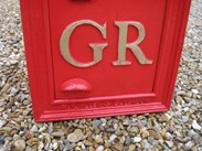 Image 4 - Original Wall Mounted GR 5th Post Box Circa 1915