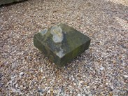 Image 2 - Reclaimed Salvaged Antique Stone Pier Capping