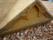 Image 5 - Large Pair of Antique Gothic Stone Gate Pier Cappings