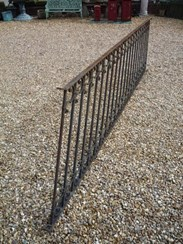 Image 3 - Antique reclaimed wrought iron staircase railings