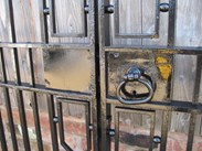 Image 3 - Salvaged Antique Cast and Wrought Iron Driveway Gates