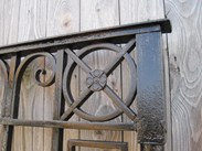 Image 7 - Salvaged Antique Cast and Wrought Iron Driveway Gates