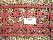 Image 9 - Large run of Cast Iron Reclaimed Antique Gothic Railings