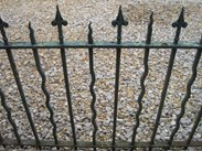 Image 3 - Set of 3 Antique Reclaimed Wrought Iron Railings