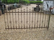 An excellent run of Run of Antique Reclaimed Wrought & Cast Iron Railings