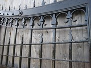 Image 3 - Pair of Oak and Iron Gates from Ashton Hall Lancaster