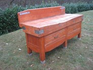 Image 3 - French Antique Butchers Block on Original Base