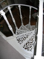 Image 1 - Reclaimed Cast Iron Spiral Staircase