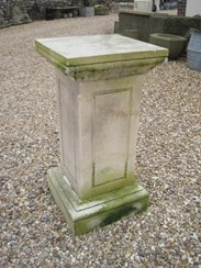 Image 1 - Antique Limestone Plinth or Pedestal