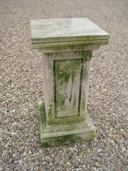 Image 5 - Antique Limestone Plinth or Pedestal