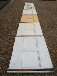 Image 4 - 7 Sections of Antique Pine Wall Panelling