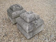 Image 4 - A pair of Portland Stone Gate Pier Finials