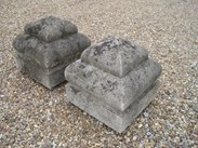Image 6 - A pair of Portland Stone Gate Pier Finials