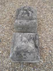 Image 7 - A pair of Portland Stone Gate Pier Finials
