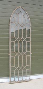 Image 3 - Coalbrookdale Cast Iron Gothic Arched Window Frame