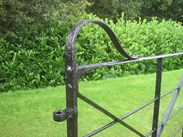 Image 1 - Antique Reclaimed Wrought Iron Estate Gate