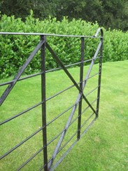 Image 3 - Antique Reclaimed Wrought Iron Estate Gate