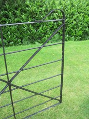 Image 4 - Antique Reclaimed Wrought Iron Estate Gate