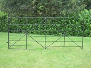Image 5 - Antique Reclaimed Wrought Iron Estate Gate