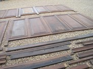 Image 3 - Large Quantity of Tall Antique Oak Wall Panelling