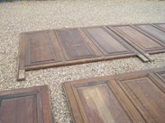 Image 7 - Large Quantity of Tall Antique Oak Wall Panelling