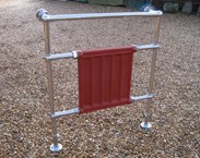 Standing Towel Rack and Rails