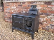 Image 2 - Antique Reclaimed Kitchen Range or Stove
