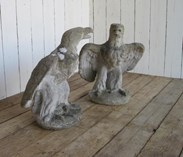 Image 1 - Pair of Eagles - Gate Pier Finials