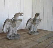 Image 4 - Pair of Eagles - Gate Pier Finials