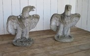 Image 7 - Pair of Eagles - Gate Pier Finials