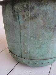 Image 1 - Original Victorian Antique Copper Garden Planter