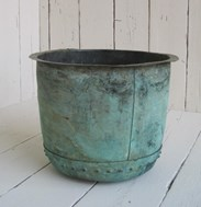 Image 5 - Original Victorian Antique Copper Garden Planter