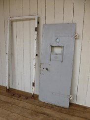 Image 4 - Substantial Prison Door and Frame