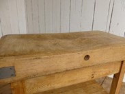 Image 3 - Antique Butchers Chopping Block