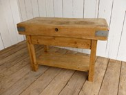 Image 6 - Antique Butchers Chopping Block