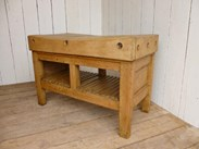 Image 1 - Antique Butchers Chopping Block