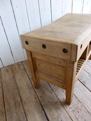 Image 4 - Antique Butchers Chopping Block