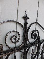 Image 3 - Antique Victorian Wrought Iron Pedestrian Gate