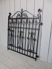 Image 5 - Antique Victorian Wrought Iron Pedestrian Gate