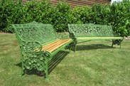 We purchased the pair of these benches - see seperate advert for the second bench