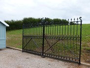 Image 1 - Pair of Excellent Large Antique Reclaimed Gates