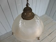 Image 5 - Antique Glass Globe Light Fitting