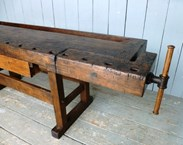 Image 10 - Antique Workbench or Kitchen Island