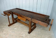 Image 2 - Antique Workbench or Kitchen Island